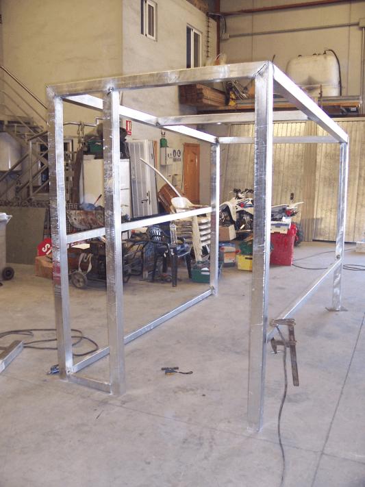Casetas prefabricadas for Casetas metalicas prefabricadas